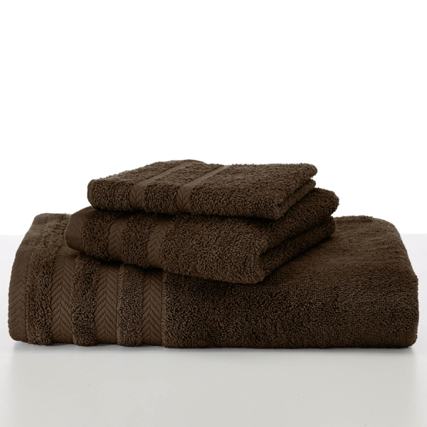 martex egyptian dark brown towels