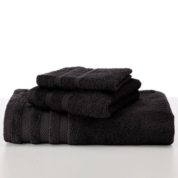martex egyptian black towels