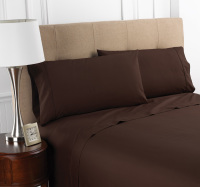 Martex Colors Chocolate Bedding Sheets