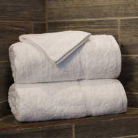 Martex Simplicity White Towel Stack