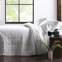 Martex Green Filled Blanket