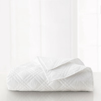 Martex Suites White Coverlet