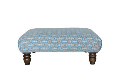 Artisan Foot Stool in above fabric: