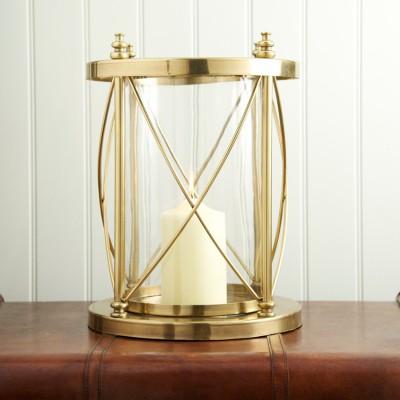 Small Antique Brass Hurricane £79.95