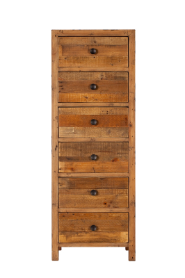 6 Drawer Tall Chest £424
