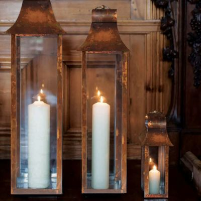 Burnished Copper Tonto Lanterns