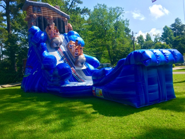 North Woods Flume Water Slide