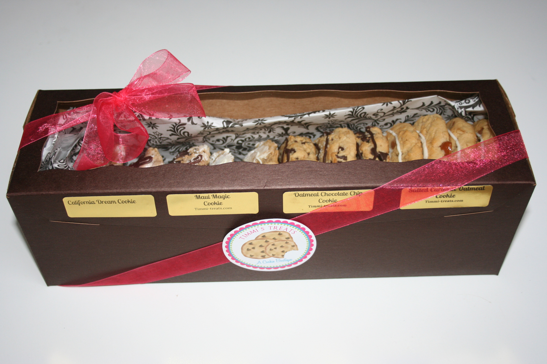 Packaged Gourmet Cookies