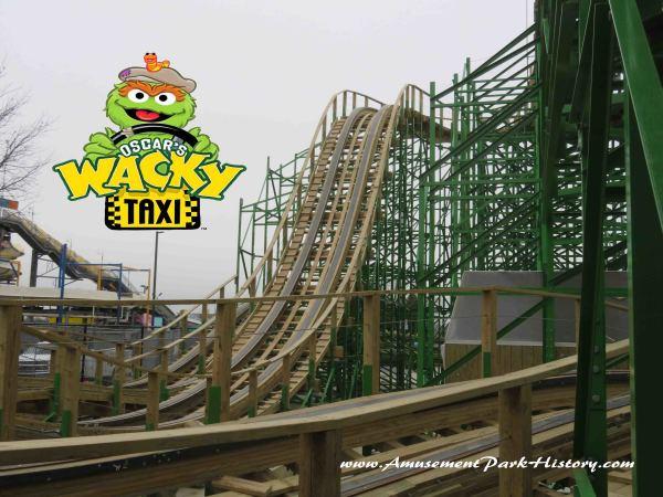 Sesame Place Oscar's Wacky Taxi Construction Tour