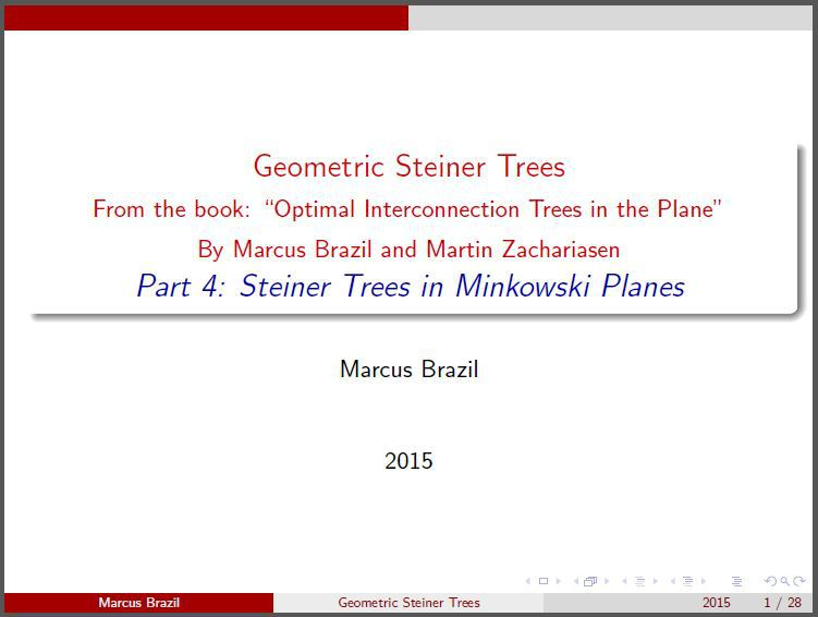 Part 4: Steiner Trees in Minkowski Planes