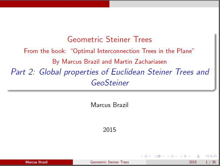 Part 2: Global properties of Euclidean Steiner Trees and GeoSteiner