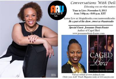 Author Interview on Blogtalkradio's AAU-Conversations with Deli