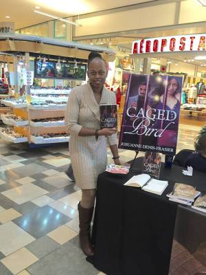 11/22/15 Caged Bird Book Signing at the First Read Expo