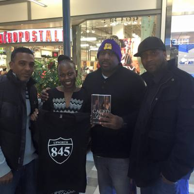 11/21/15 Caged Bird Book Signing at the First Read Expo