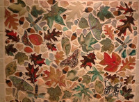 leaf tile, back splash, backsplash, Sugar Maple, Silver Maple, Red Maple, Sassafras, hearth, Oak, Ginkgo, interior design, art tile, doorbells, pool, leaves, tile, ceramic, stoneware, stoneleaf, stoneleaf tile, stoneleaftile