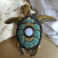 doorbell, door bell, doorbell plate, sea turtle, sea turtle doorbell, shell doorbell, doorbell push, stoneleaf, stoneleaftile
