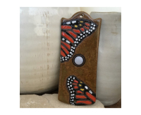 monarch, doorbell, door bell, peacock, feather, doorbell plate, buzzer, butterfly, chicken, moth, stoneware, stoneleaf, stoneleaftile, tile, mosaics