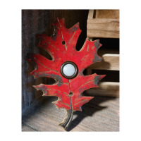 leaf tile, doorbell, door bell, leaf doorbell, maple, oak, birch, mosaic, doorbell plate, press button, buzzer, stoneleaf, stoneleaftile