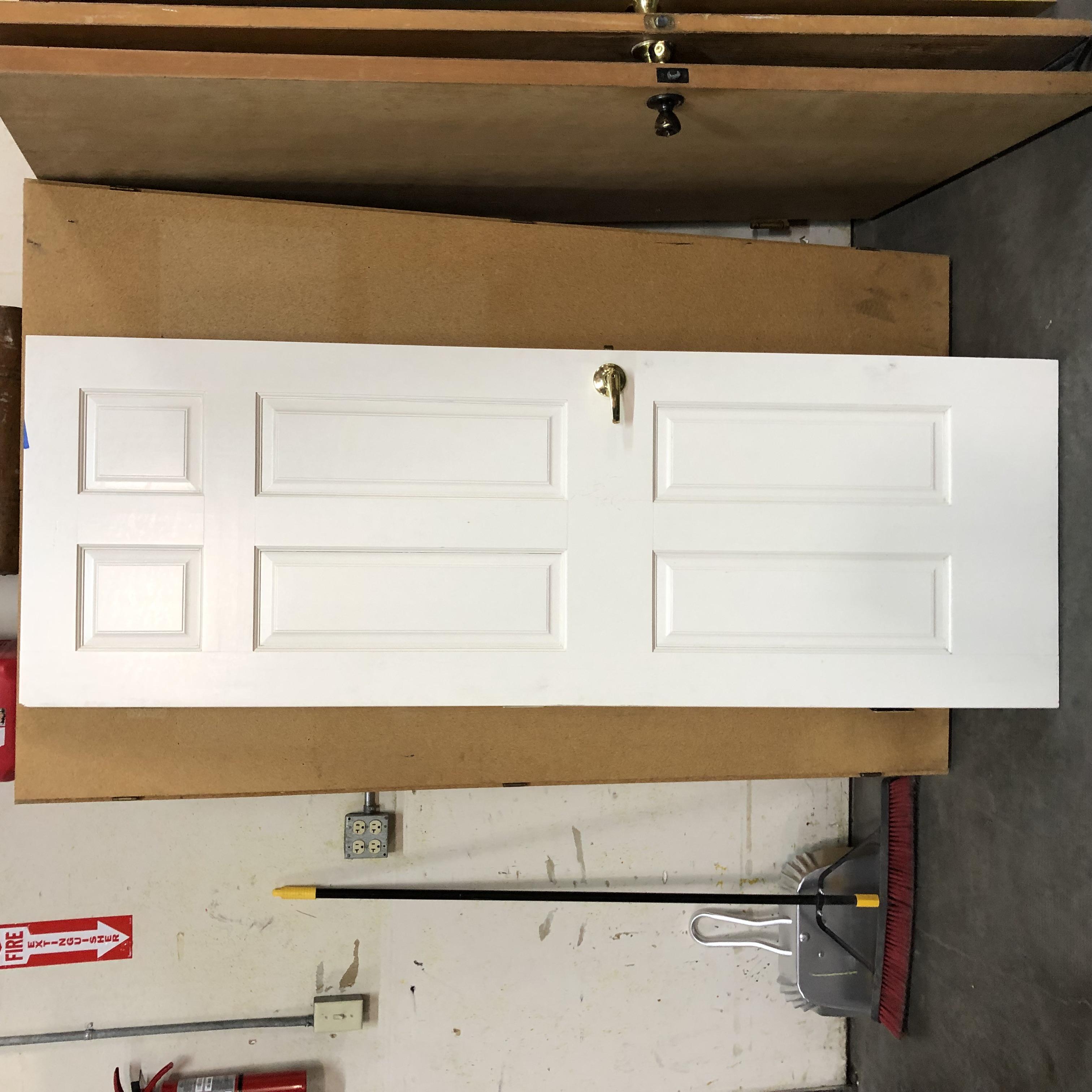 """28""""x 79-1/2"""" 6 panel door"""