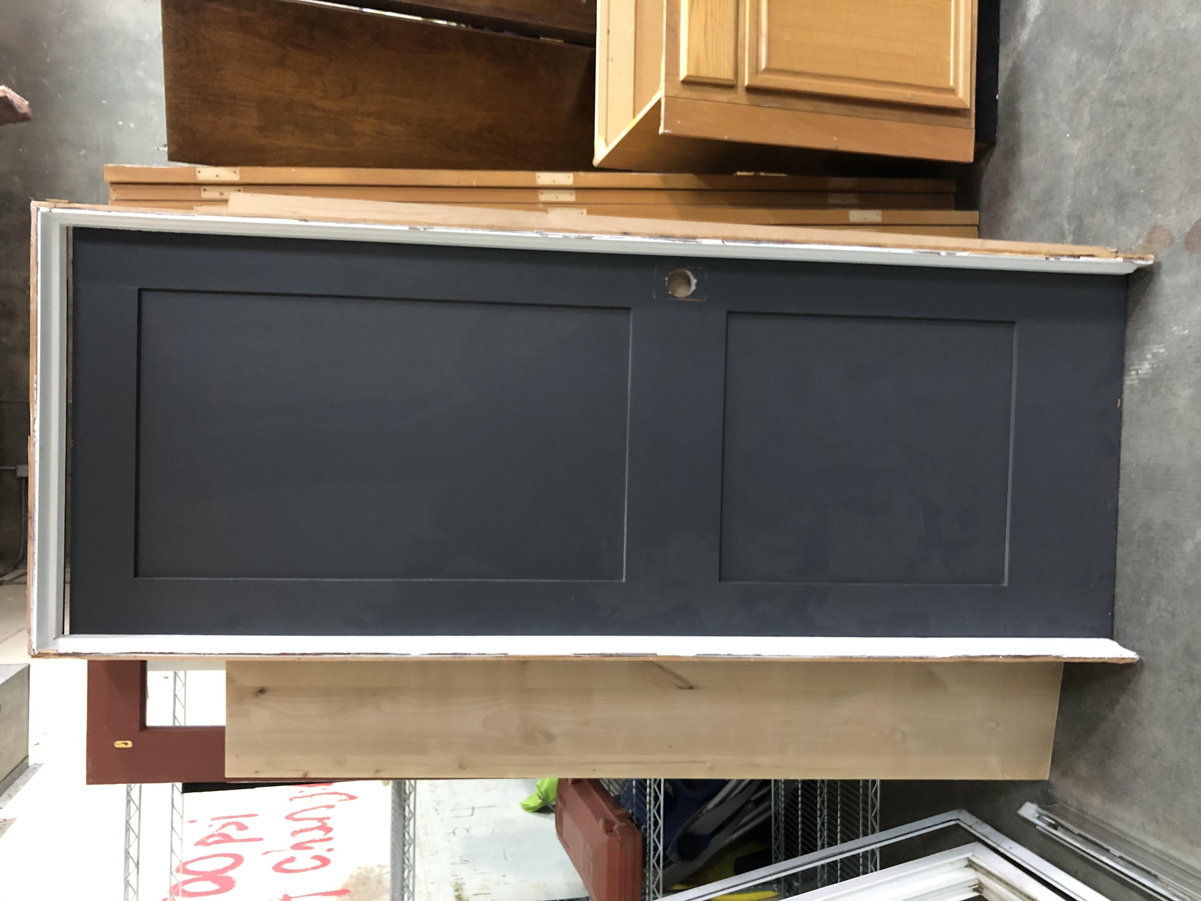 Interior door w/frame