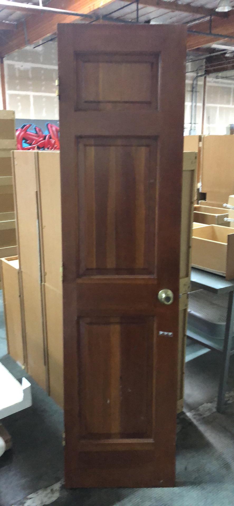 """20""""x 80"""" 3 panel closet door"""