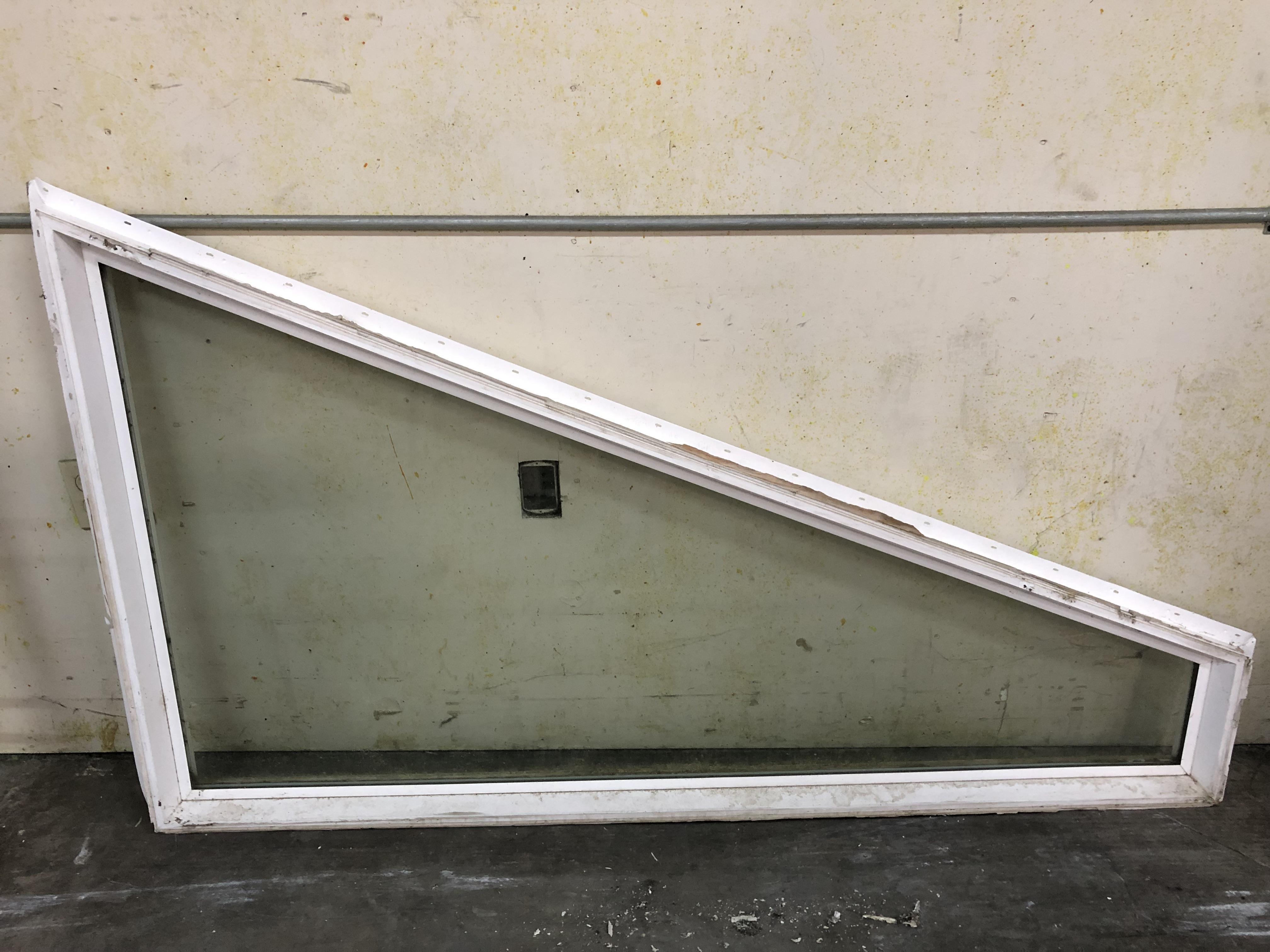 White vinyl window