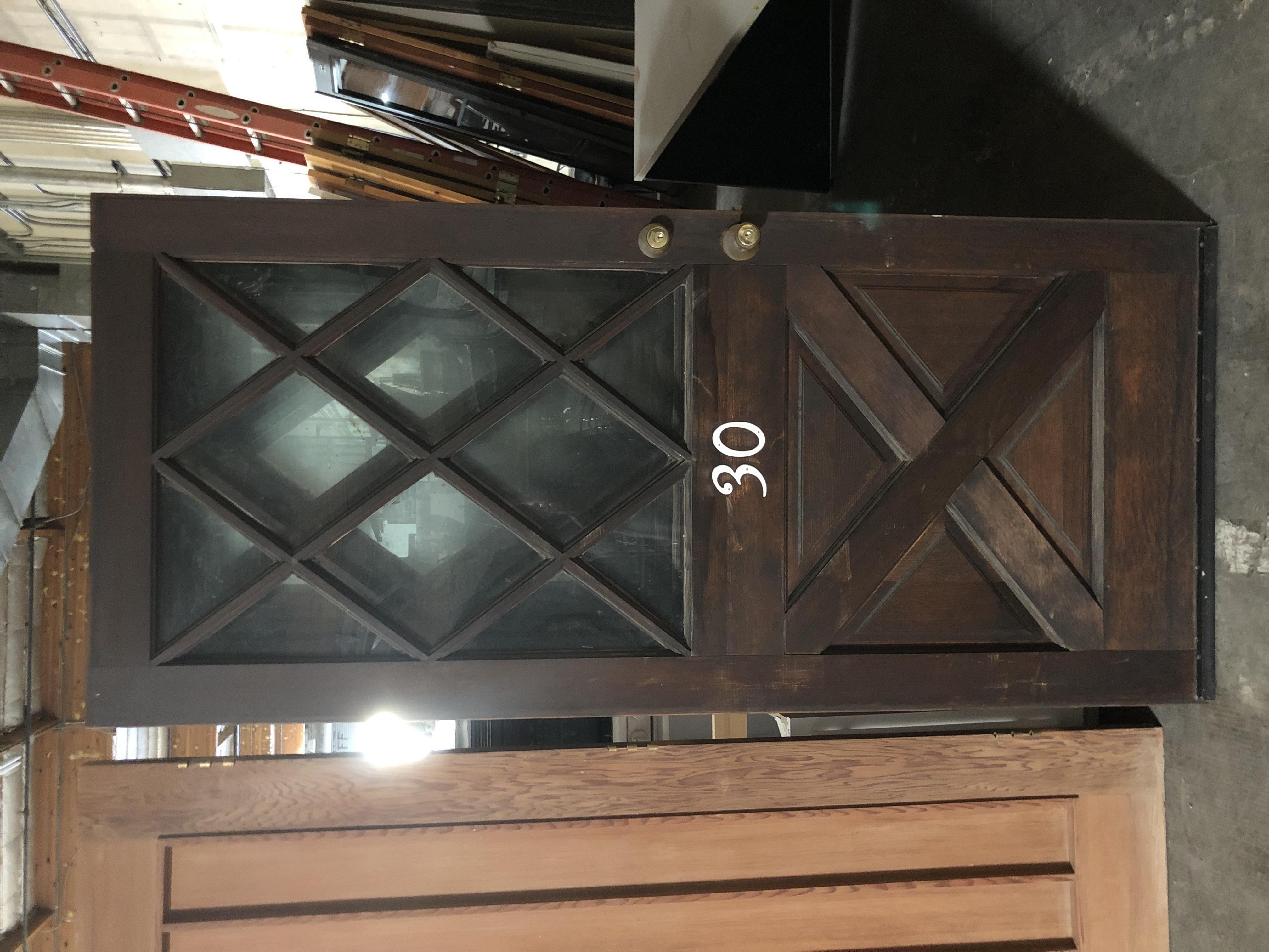"""36""""x 80"""" heavy exterior door"""