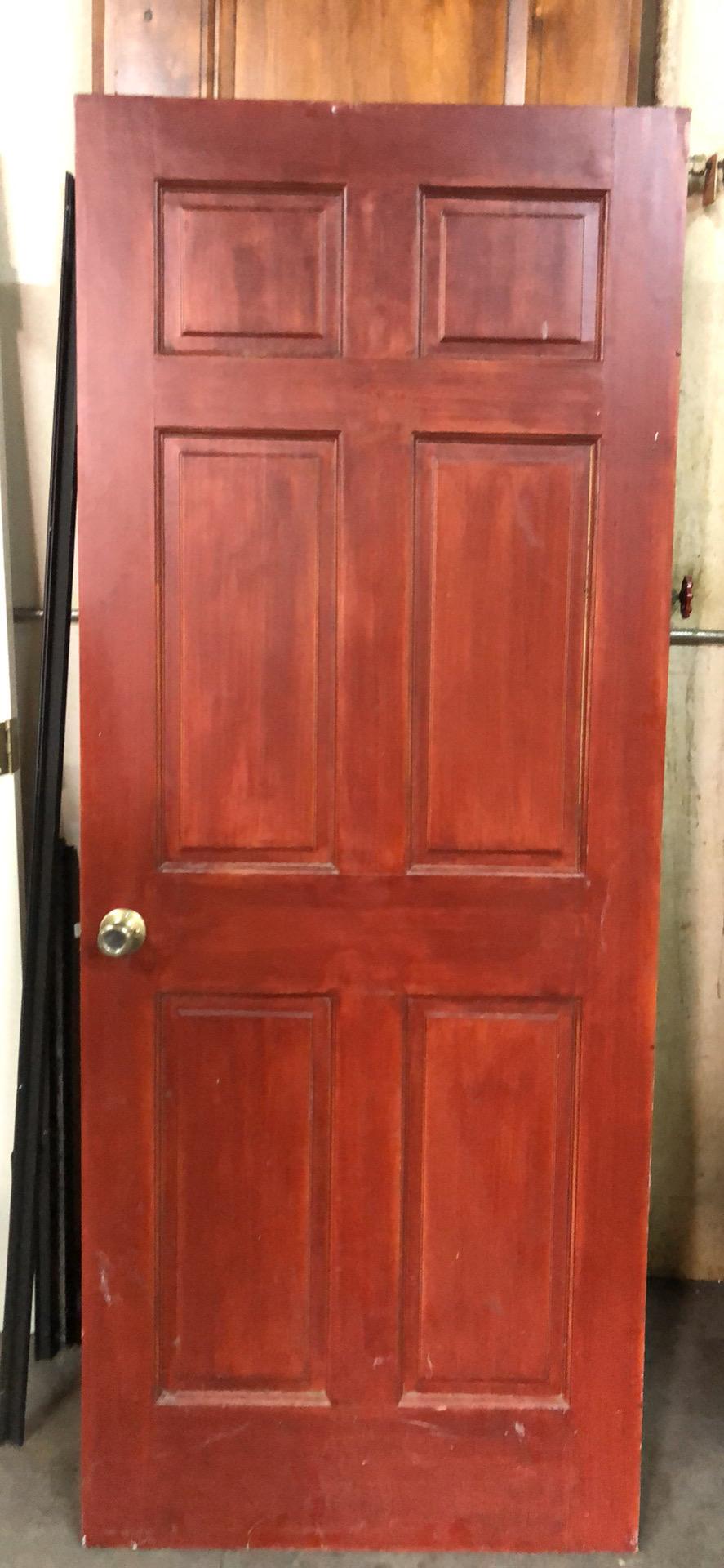 """32""""x 80"""" 6 panel interior door"""