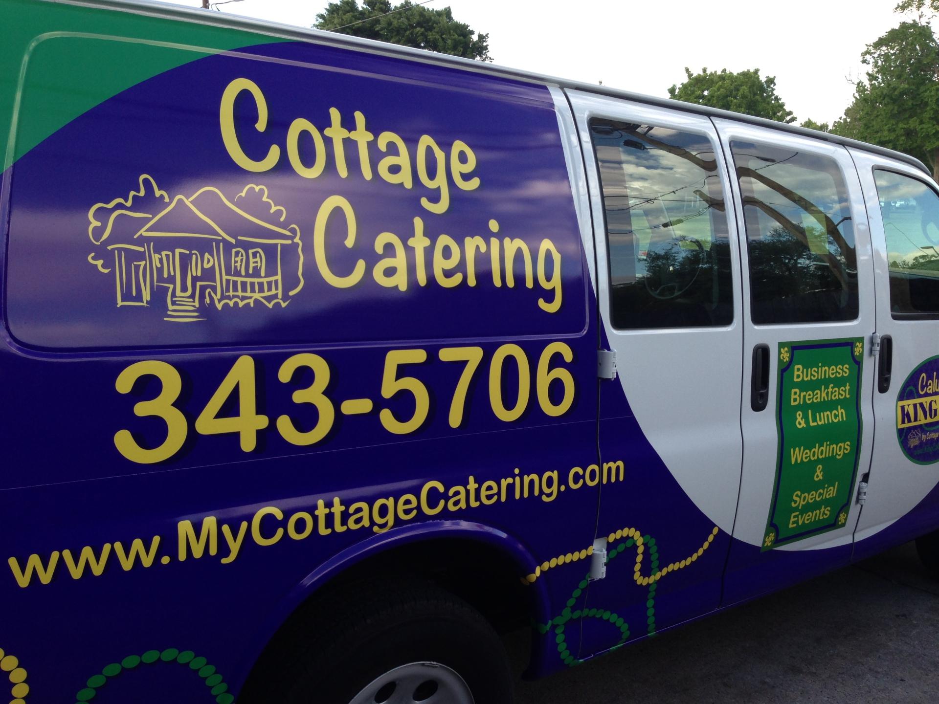 Catering Delivery Van