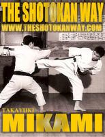 Mikami, karate, kata
