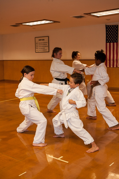 Kids and youth karate classes