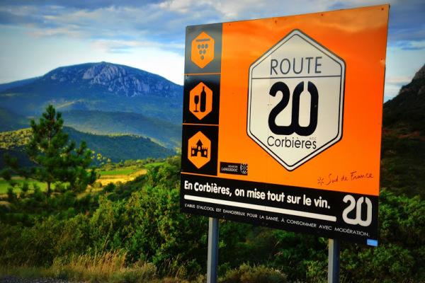 Route de Vin, Corbieres