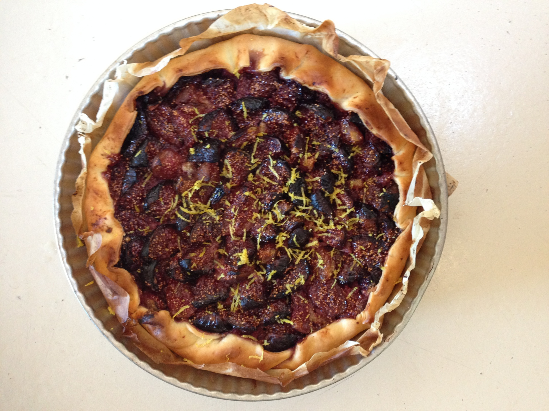 Home made Fig Tart