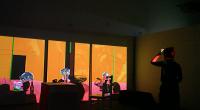 C Bacon; interactive installation;2016;wujiaru