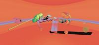 C Bacon; interactive installation;digital print;2016;wujiaru