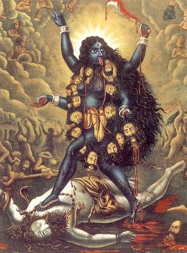 Kali & Shiva:  Feminine & Masculine in Balance