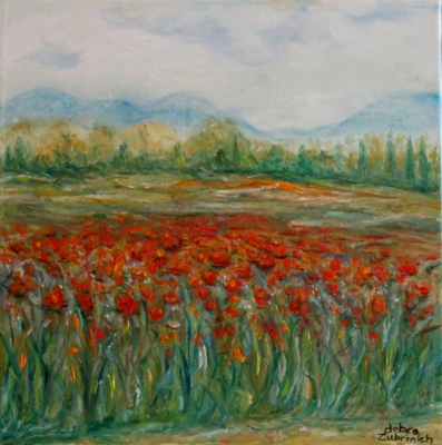 Provence Poppies
