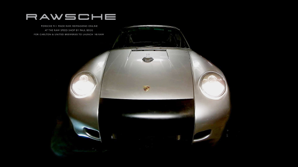 RAWSCHE. Custom Porsche for VB Raw promotion.