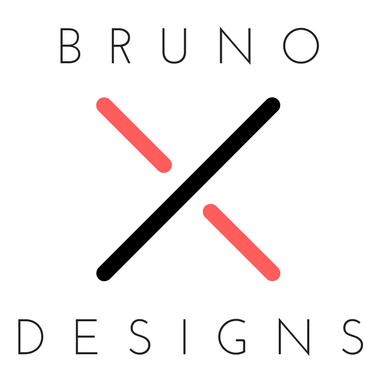 brunoxdesigns, logo, affordable web design, zach marino