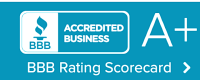 BBB Rating Scorecard A+, provision contractors