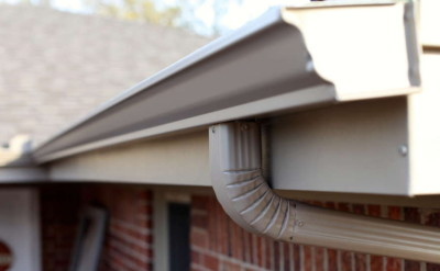 gutters, gutter on home