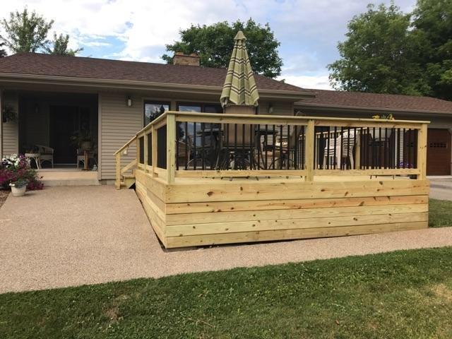 provision contractors, renovation, decking