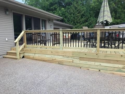 provision contractors, renovation, decking