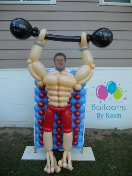 Muscle Man Photo Op