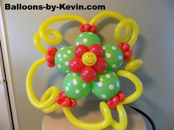 Smiley Flower Decor Example