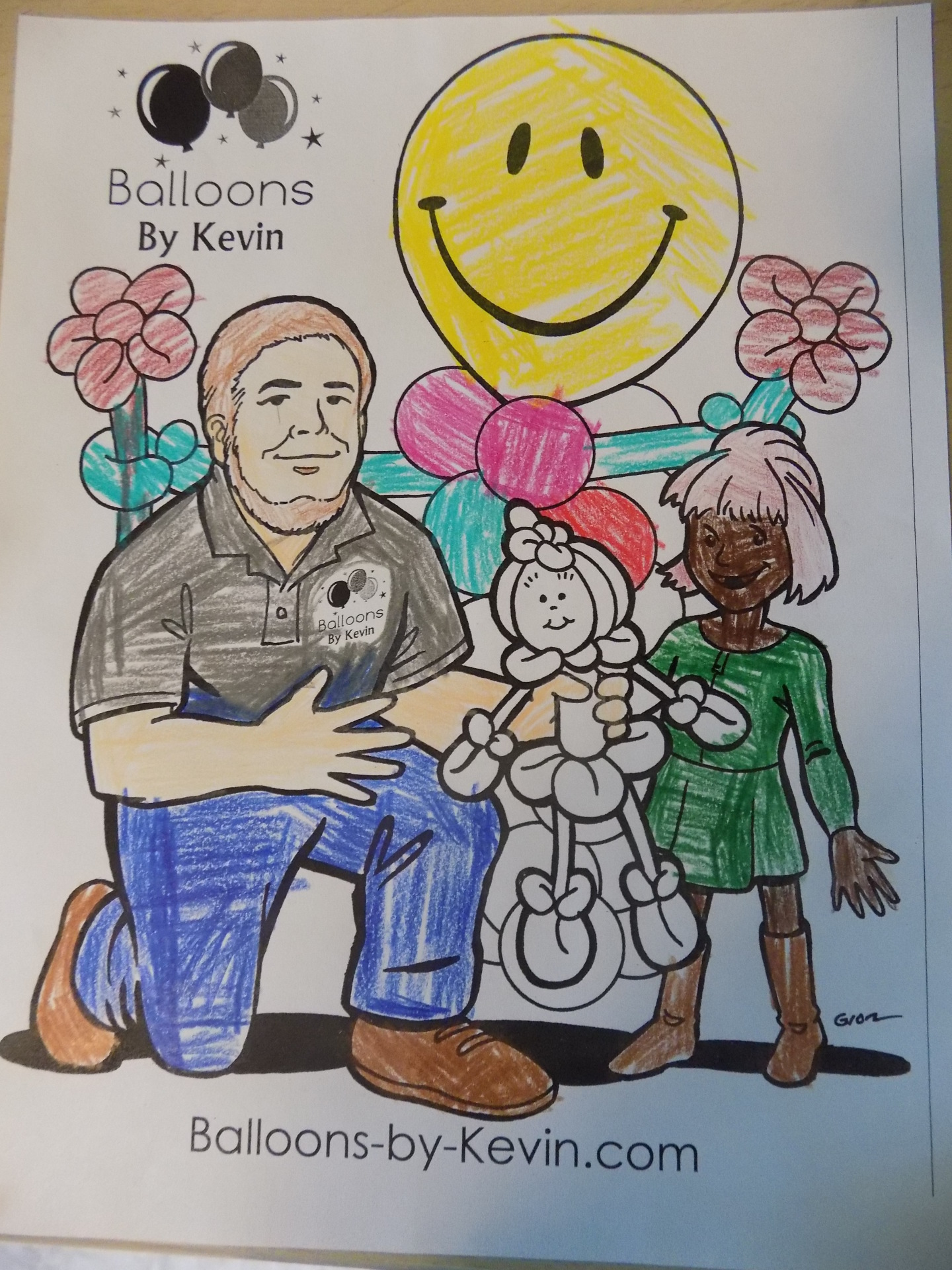 Coloring Page Entry