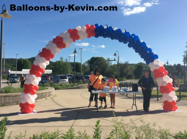 USA Flag Arch