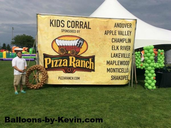 Pizza Ranch Custom Decor