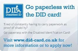 Disabled Identification (DID) Card
