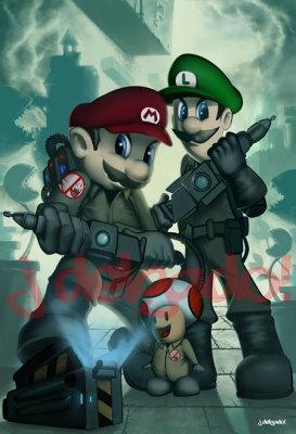 Mario Ghostbusters